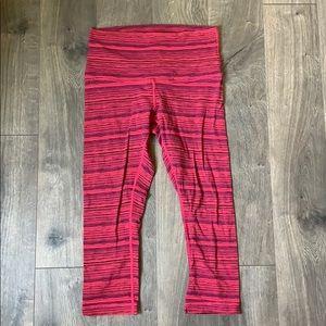Lululemon striped leggings - size 10